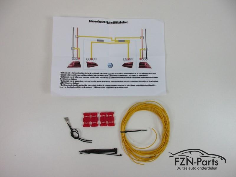 vw golf 7 led achterlichten kabelset kabels kabel set. Black Bedroom Furniture Sets. Home Design Ideas