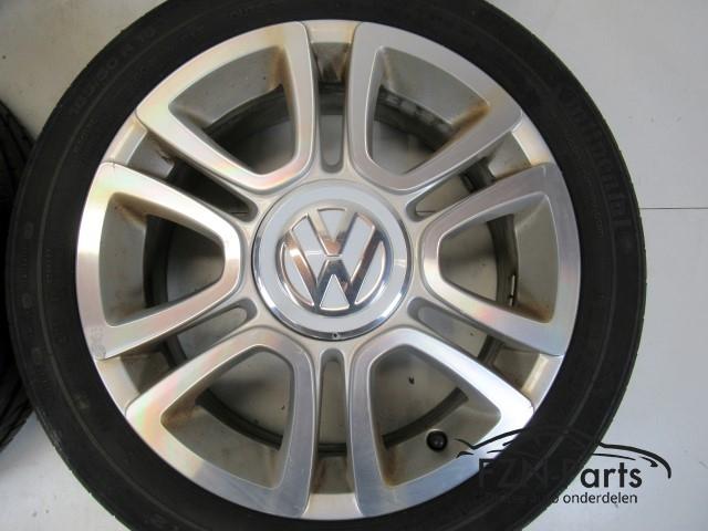 Vw Up Triangle 16 Inch Aluminium Velgenset 1s0601025l Fzn