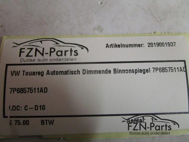 VW Touareg 7P6 Automatisch Dimmend Binnenspiegel 7P6857511AD