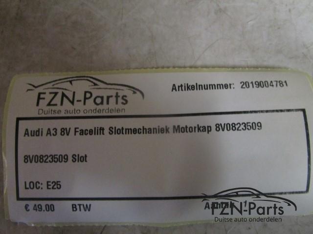 Audi A3 8V Facelift Slotmechaniek Motorkap 8V0823509 - FZN ...